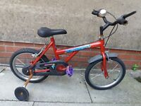 Kids' Bike with Stabilisers