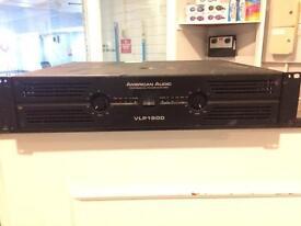 1500w VLP amplifier - American Audio