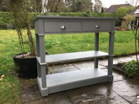 Hand Painted Dining / Kitchen Sideboard in Grey
