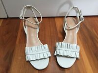 Marks and Spencer White Sandals for sale - Size 5. Worn once