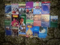 19 TRAVEL HOLIDAY TRIP GUIDE BOOKS ROUGH GUIDE LONELY PLANET THOMAS COOK TRAVELLING BACKPACKING VGC