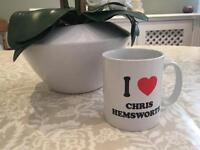 "Mug - ""I heart Chris Hemsworth"""