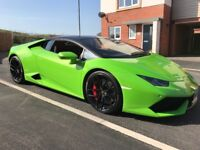 Prom car hire and other special occasions, Lamborghini Huracan.