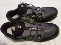 MENS SIZE 11 SALAMON TRAINING SHOES,COST A FORTUNE.BARGAIN PRICE.