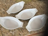 4 Brand New oven dishes