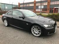***BMW 320 D M-SPORT COUPE FULL RED LEATHERS+ALLOYS+MOT VOSA HISTORY+DRIVES S...