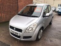Suzuki Splash 1.2 GLS 5 door - 2009, 2 Owners, 12 Months MOT, Service History, Immaculate Car!