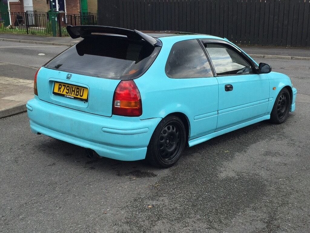 Honda civic 1 4 type r rep ej9 ek9 12 months full mot for Honda civic ek9