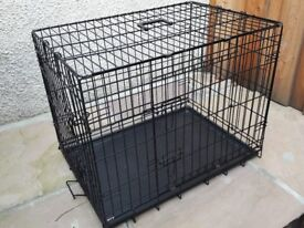 Intermediate Sized Metal Dog Cage