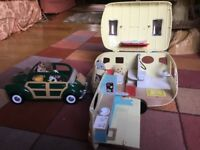 Sylvanians- characters, housing and vehicles for sale.