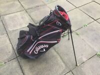 Callaway Chev Dual Strap Stand Bag . Used Once . Mint