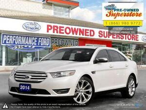 2014 Ford Taurus Limited>>>ULTRA LOW KMS, NAV, 20 RIMS<<<