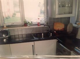 Two bedroomed flat own private entrance and garden . Two minutes walk from kirkstall abbey .