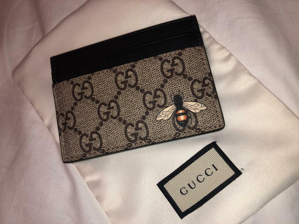 a932fb917e7 Real Gucci wallet card holder BRAND NEW