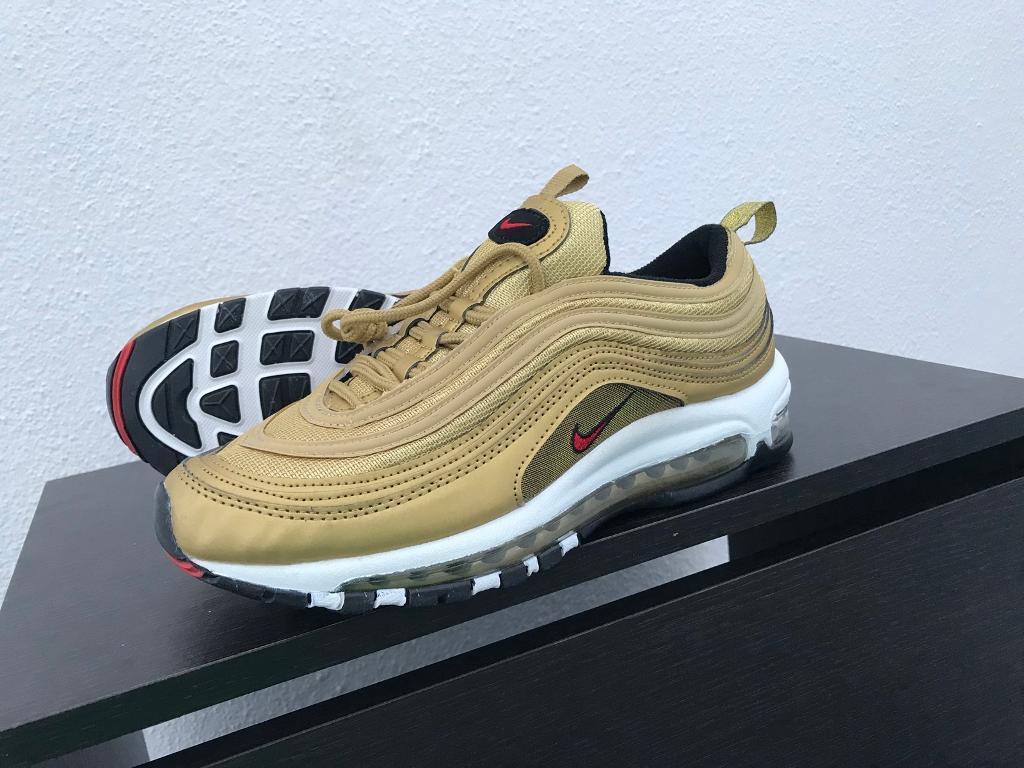 Nike Air Max 97 OG Gold Size UK 7 Eur 41 Brand New Unworn