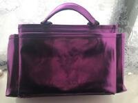 Younique purple makeup bag