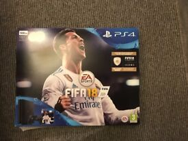 Almost new PlayStation 4 plus extra controller, Fifa 18, Destiny 2