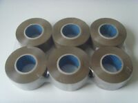 6x Brown Packing Tape 48mm x 150m