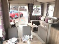 Static caravan for sale with 2018 pitch fees!