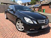 Mercedes-Benz, E350 CDI Sport, Coupe, 2009, Semi-Auto, 2 doors, Black