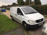 Mercedes Benz VITO 109 CDI LONG WHEELBASE 2008 58 REG £3250