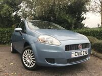 2010 (10) Fiat Grande Punto 1.4 8v Active 21,000 MILES 2 OWNER IMMACULATE FULL FIAT SERVICE HISTORY