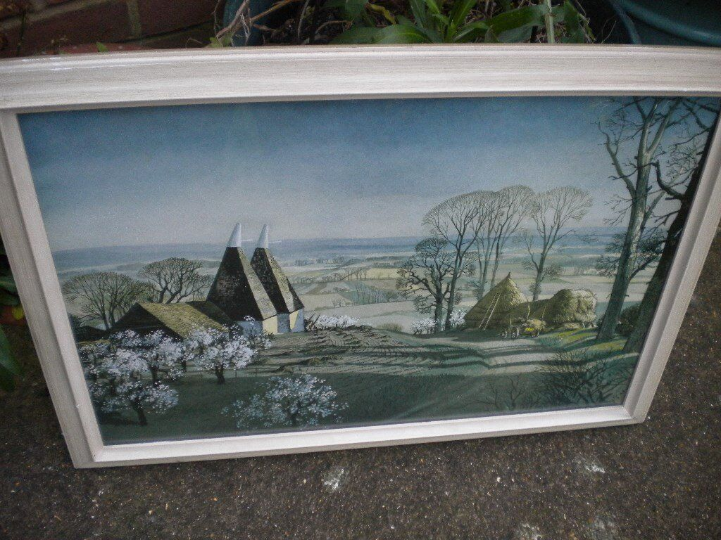 A ROWLAND HILDER PRINT CALLED SPRING 25X17 INCHES