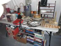 Large job lots of assorted items ideal for car boot sale
