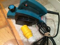 £55 MAKITA ELECTRIC POWER PLANER 110v - 1902X7 4 Amp 3-1/4-Inch