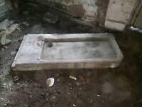 Yorkshire stone sink