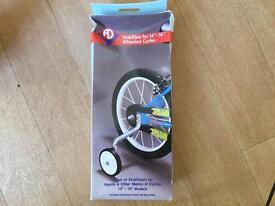 "Adie Stabilisers for 14"" to 16"" wheels - job lot of 15 packs."