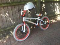Diamondback BMX Bike & Helmet