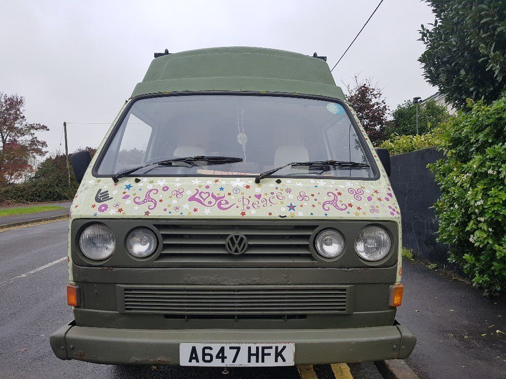 VW T25 with huge personality
