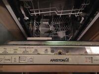 Dishwasher Ariston slimline integrated