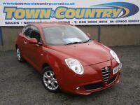 ***2009 Alfa Romeo MiTo LUSSO 95 **SUPERB VALUE**MOT MARCH 2017**( clio fiesta mini 500 ibiza polo