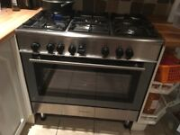 Kenwood dual fuel range cooker