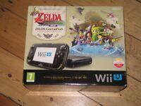 Nintendo Wii U Limited Edition Wind Waker premium pack.