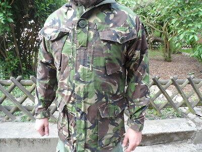 UK GB Jacke Smock combat windproof Dp mit Kapuze Gr. L