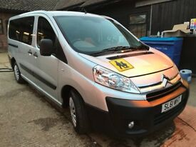CITREON DISPATCH 2.0 HDI XLWB 9 seater combi MPV 2011/61 in silver PCO