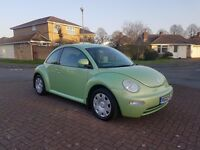 VW BEETLE 1.6 PETROL MANUAL ***FULL SERVICE HISTORY*** BARGAIN