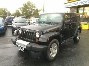 2010 Jeep WRANGLER UNLIMITED SAHARA UNLIMITED, 2 TOPS, 6 SPEED,