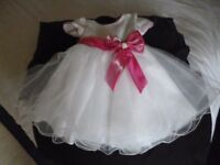 Lovely frothy Bridesmaid/party dress to fit 2-3 yr old As new - Shipley