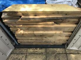Selection of solid pine wood ( job lot )