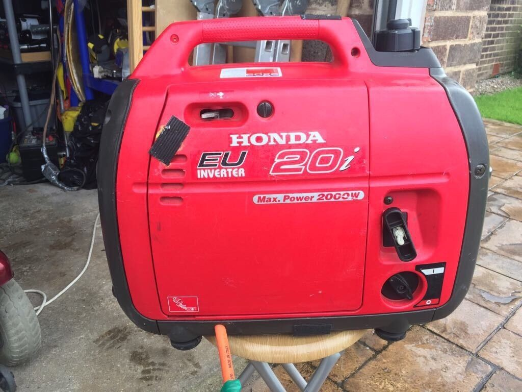 Honda EU 20i 4 Stroke Petrol Generator With LPG Conversion