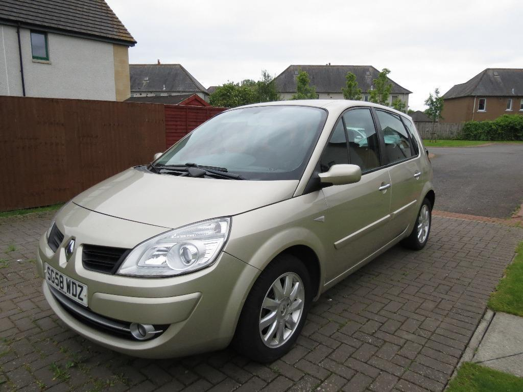 sold renault scenic 1 6 2008 good condition great versatile family car sold in. Black Bedroom Furniture Sets. Home Design Ideas