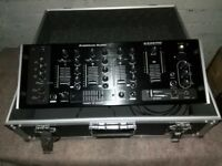 American Audio Mixer in flight case perfect order with power lead
