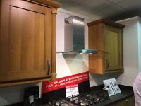 Brand new Bosch cooker hood. Ex display model from wren kitchens.