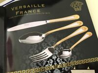 Brand New Versaille France 80 Piece Cutlery Set