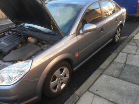 Vauxhall Vectra 06 plate