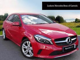 Mercedes-Benz A Class A 180 D SPORT PREMIUM (red) 2016-01-26